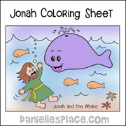 'Jonah and the Whale Coloring Sheet' from the web at 'http://www.daniellesplace.com/HTML/../images78/jonah-coloring-sheet-pic-sm.jpg'