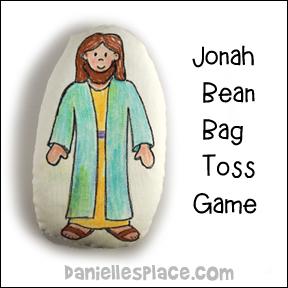 'Jonah Bean Bag Toss Game' from the web at 'http://www.daniellesplace.com/HTML/../images83/jonah-beanbag-craft.jpg'