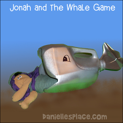'Jonah in the Whale Bean Bag Toss Game from www.daniellesplace.com' from the web at 'http://www.daniellesplace.com/HTML/../images83/jonah-fish-game.jpg'