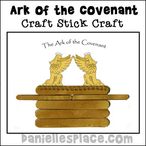 sunday schoo popsicle stick ark picture bible craft