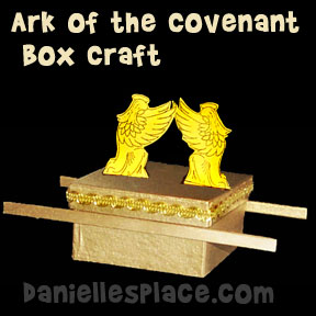 sunday school ark box bible craft