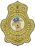 sunday school detective badge bible craft