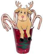 Reindeer Treat Cup Christmas Craft for Kids
