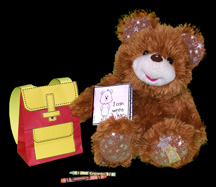 Teddy Bear Gets Ready for School Craft for Kids