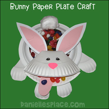 Easter Bunny Candy Dish Craft