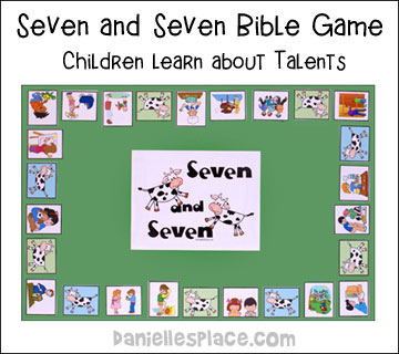 Joseph's Special Talents Bible Game - Children learn about talents