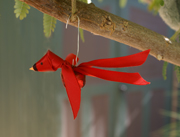 Sunday School Red Ribbon Bird Craft