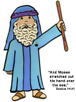 Moses Bible Craft for Sunday School