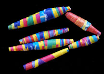 earth day recycled Wrapping Paper Beads