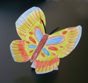 Paper Plate Butterfly Craft for Kids