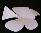 Paper Plate Butterfly Craft for Kids diagram 1