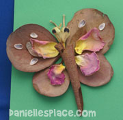 Leaf bug craft