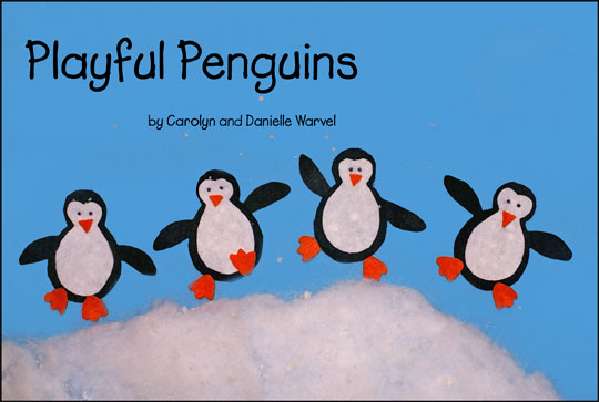 Playful Penguins Book Cover