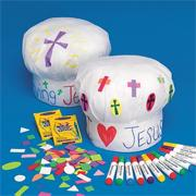 sunday school chef's hat bible craft kit  www.daniellesplace.com