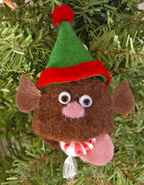 Wet Felted Elf Craft for kids
