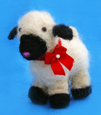 Felted Sheep Craft