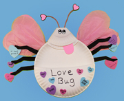 love Bug Valentine's Day Card Holder