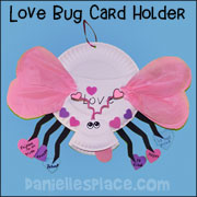 Love Bug Paper Plate Craft