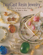 easy cast resin jewelry book