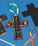 Scratch Art Cross Craft for VBS