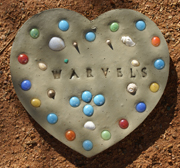 Heart-shaped Stepping Stone