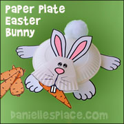 Bunny Paper Plate Craft