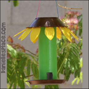 Sunday School Sunflower Bird Feeder Craft