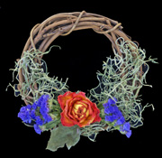 sunday school dried flower Wreath bible Craft