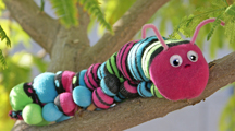 Sock Caterpillar Craft