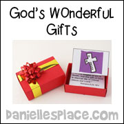 sunday school bible craft matchbox gifts from www.daniellesplace.com