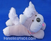 Sock doll Dog