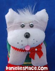 sock dog craft