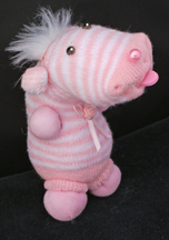Striped Critter Sock Doll Craft