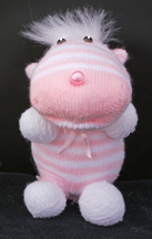 Striped Critter Sock doll Craft 2