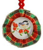 Christmas Ornament Craft - Bird