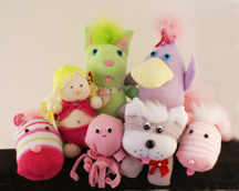 Sock Animals sock dolls