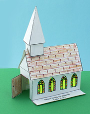 sunday school paper Church Craft bible craft