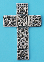 Silver Tape 3D Cross Bible Craft for Kids