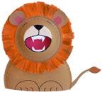 Roaring Lion Paper Plate Craft for Kids