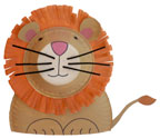 Paper Plate and Bowl Lion Craft