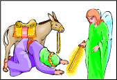 Sunday School Balaam and his Donkey Bible Story