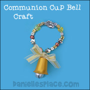 Communion Cup Christmas Bell Craft