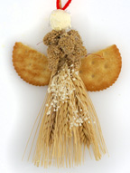 angel bird food ornament craft
