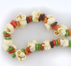 popcorn dried fruit and cereal chains