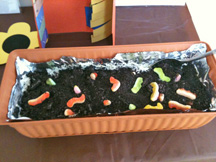 homeschool sunday school bug food craft