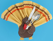 sunday School Thanksgiving Turkey Craft for Kids