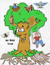 The Busy Tree Printable Activity Sheet