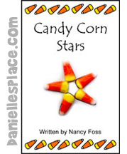 Thanksgiving Candy Corn Stars Book Bible Craft for Kids