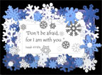 Snowflake Poem and frame