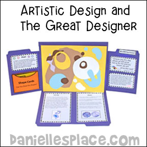 Creativity file folder For Christian Homeschool Art Lesson about Shape